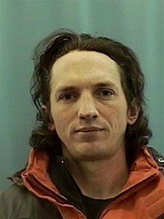 Confessed serial killer Israel Keyes is seen in this undated booking photo released to Reuters by the U.S. Attorney's Office in Alaska Decem