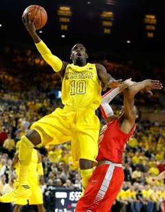 Michigan forward Tim Hardaway Jr.