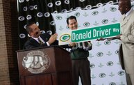 Donald Driver Retirement Ceremony: Cover Image