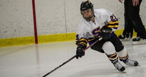 UW Stevens Point Women's Hockey.  Photo courtesy UWSP Athletic Department