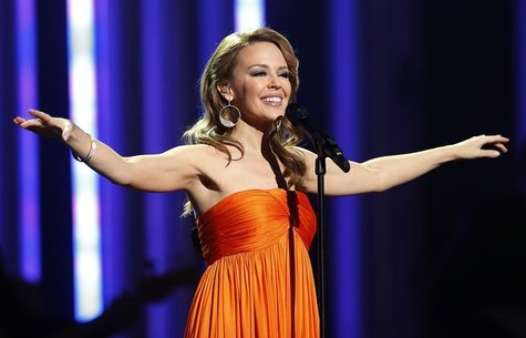 Singer Kylie Minogue performs at the Nobel Peace Prize Concert in Oslo December 11, 2012. REUTERS/Suzanne Plunkett