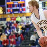UW Stevens Point Men's Basketball.  Photo courtesy UWSP Athletic Department