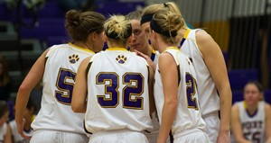 UW Stevens Point Women's Basketball.  Photo courtesy UWSP Athletics Department