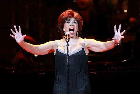 Dame Shirley Bassey performs during the 21st birthday celebration of the Rainforest Fund at Carnegie Hall in New York May 13, 2010. REUTERS/