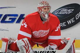Petr Mrazek made 26 saves in his first career NHL start.