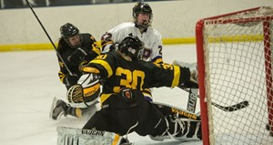 UW Stevens Point Women's Hockey vs Superior.  Photo courtesy UWSP Athletics Department