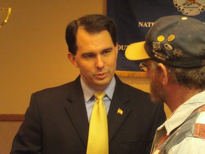 Governor Scott Walker at NRA Convention in Wausau WI
