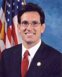 Representative Eric Cantor (R-VA) - Public domain photo
