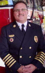 Marshfield Fire Chief Jim Schmidt
