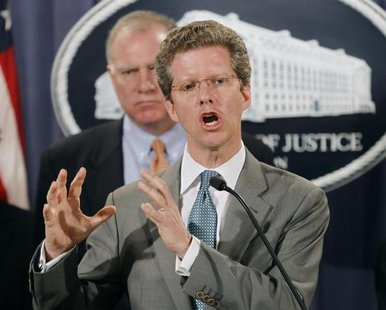 File photo of U.S. Housing and Urban Development Secretary Shaun Donovan announcing February 9, 2012 in Washington that the federal governme