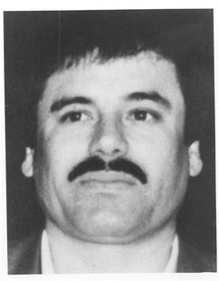 Joaquin Guzman, the leader of Mexico's Sinaloa drug cartel, is seen in this undated handout photo provided by the Federal Prosecutor's Offic
