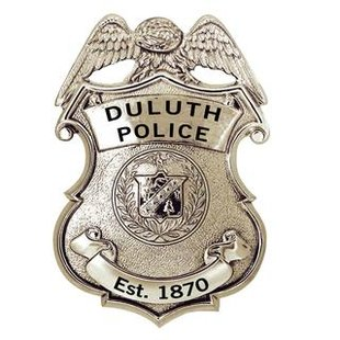 Duluth Police Badge