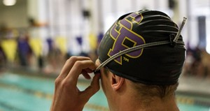 UW Stevens Point Swimming.  Photo courtesy UWSP Athletic Department.