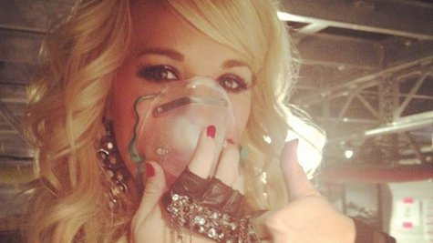 Image courtesy of Instagram.com/CarrieUnderwood (via ABC News Radio)