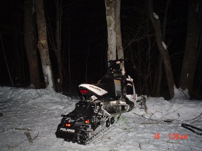 Fatal snowmobile accident