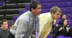 UW Stevens Point wrestling coaches.