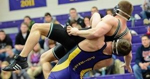 UW Stevens Point wrestling.  Photo courtesy of UWSP Athletic Department.