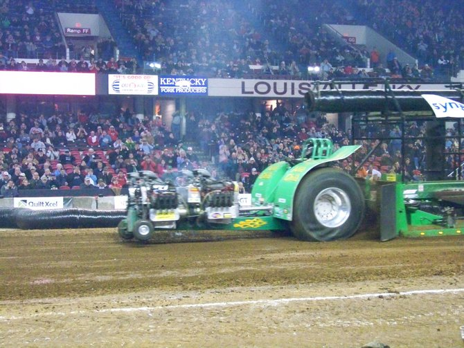 2013 NFMS Championship Tractor Pull in         Louisville, KY