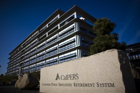 Calpers headquarters is seen in Sacramento, California, October 21, 2009. REUTERS/Max Whittaker