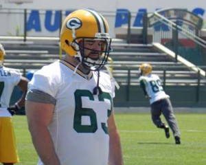 Packers Center Jeff Saturday.  Photo courtesy Wisconsin Radio Network