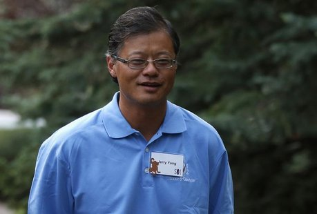 Co-founder of Yahoo Jerry Yang attends the Allen & Co Media Conference in Sun Valley, Idaho July 13, 2012. REUTERS/Jim Urquhart