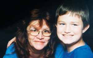 undated younger Terry Payton with mother Kathie