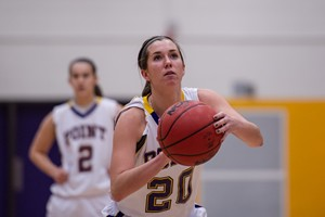 UW Stevens Point Women's Basketball vs. Eau Claire Wednesday night.