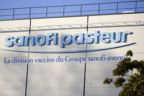 Exterior view of the Sanofi Pasteur plant where the influenza A (H1N1) vaccines are produced in Val-du-Rueil near Rouen October 19, 2009. RE