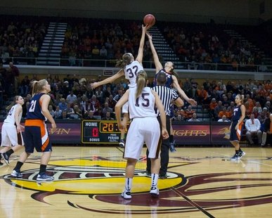 Get ready for double the Hope at Calvin basketball action at DeNoord Arena on Saturday ... hear the games on 92.7 The Van and http://927thevan.com/listen-live. (photo courtesy Calvin College)
