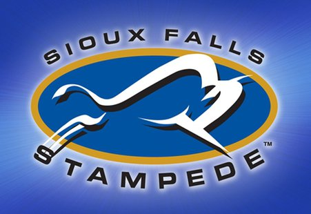 Sioux Falls Stampede - logo copyright SF Stampede Hockey and used with permission