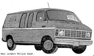 A composite sketch of the van believed to be involved in the 1985 hit-and-run death of Frank Latza.