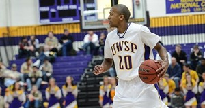 UW Stevens Point Men's Basketball vs. Platteville.  Photo courtesy UWSP Athletic Department.