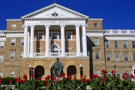 Bascom Hall on the UW-Madison campus.