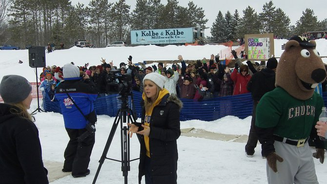 All of the local celebs came out to cover the 2013 Wausau Polar Plunge
