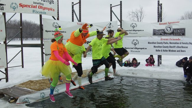 The 2013 Wausau Polar Plunge was colorful!