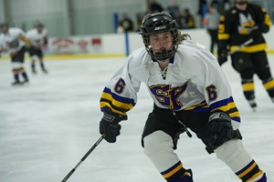 UW Stevens Point Women's Hockey.  Photo courtesy UWSP Athletic Dept.