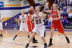UW Stevens Point Women's Basketball.  Photo courtesy UWSP Athletic Dept.