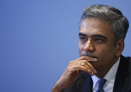 Anshu Jain, Co-Chairman of the Management board and the Group Executive Committee of Germany's largest business bank, Deutsche Bank AG liste