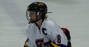 UW Stevens Point Women's Hockey.  Photo courtesy of UWSP Athletic Department