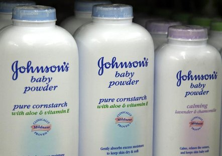 Products made by Johnson & Johnson for sale on a store shelf in Westminster, Colorado April 14, 2009. REUTERS/Rick Wilking