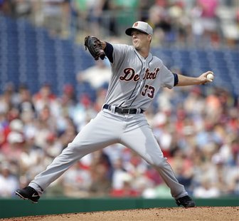 Drew Smyly pitched two scoreless innings for the Tigers.