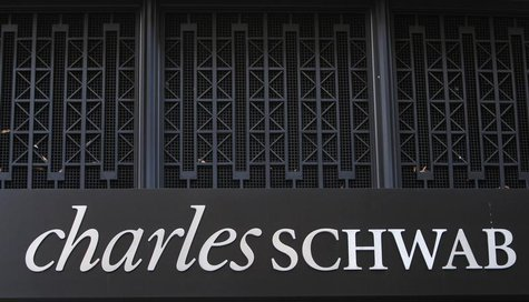 A Charles Schwab Investment branch is seen in Washington January 19, 2010. REUTERS/Jim Young