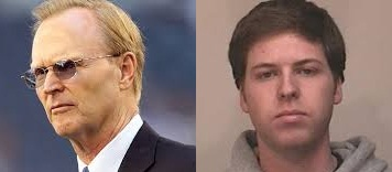 John Mara, owner of the New York Giants (left) John Mara's Nephew  (right)