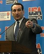 Coach Mike Kryzewski