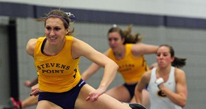 UW Stevens Point Track & Field's Erin Kline. Photo courtesy UWSP Athletic Department