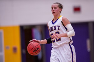 Two time WIAC Women's Basketball Player of the Year Sam Barber, Senior, UW Stevens Point