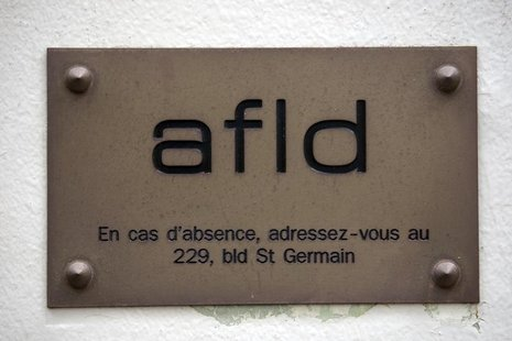 Logo of French Anti-doping Agency (AFLD) in Paris October 7, 2009. REUTERS/Charles Platiau