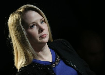 Yahoo Inc Chief Executive Marissa Mayer attends the annual meeting of the World Economic Forum (WEF) in Davos in this file photo taken Janua