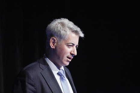Founder and Chief Executive Officer of Pershing Square Capital Management LP Bill Ackman speaks during the Sohn Investment Conference in New
