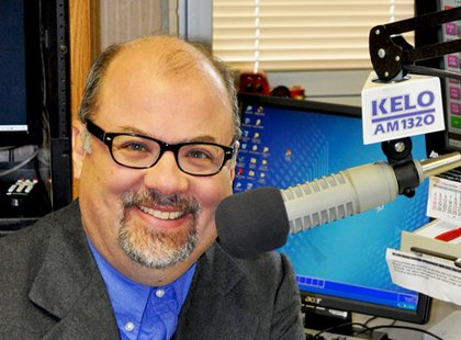 KELO NewsTalk 1320 107.9 morning show host Greg Belfrage - Photo copyright Midwest Communications